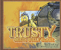 Illustrated Trusty Meets Bully Blare