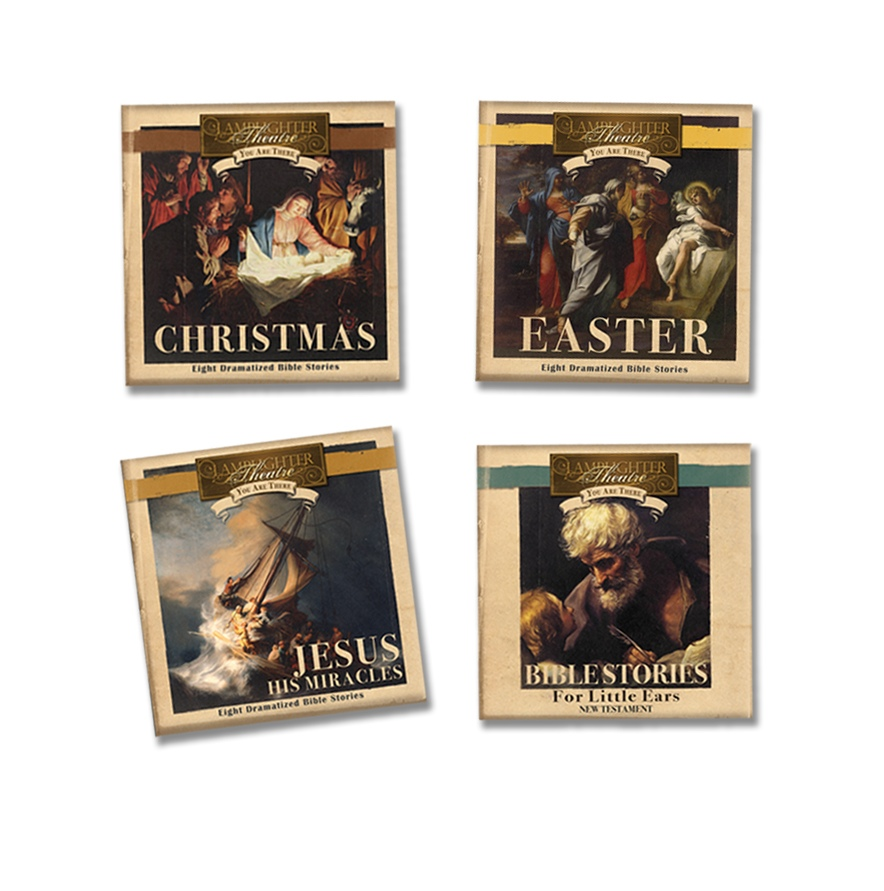 You Are There - New Testament Series (4 Titles) - CD THUMBNAIL