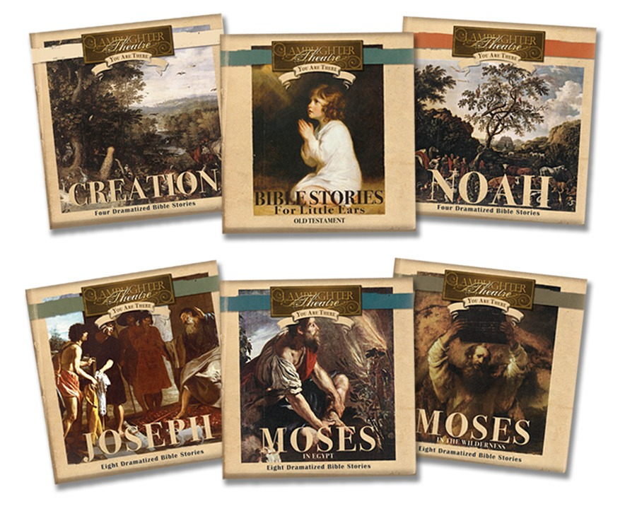 You Are There - Old Testament Series (6 Titles) - CD