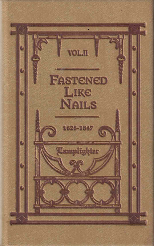 Fastened Like Nails - Vol. 2 LARGE
