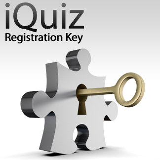 iQuiz Registration Key