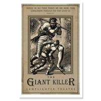 Poster: The Giant Killer LARGE