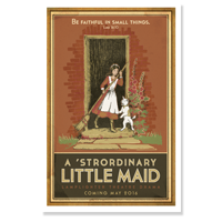 Poster: 'Strordinary Little Maid LARGE