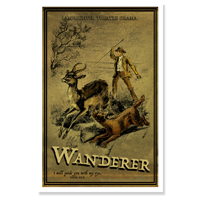 Poster: The Wanderer in Africa LARGE