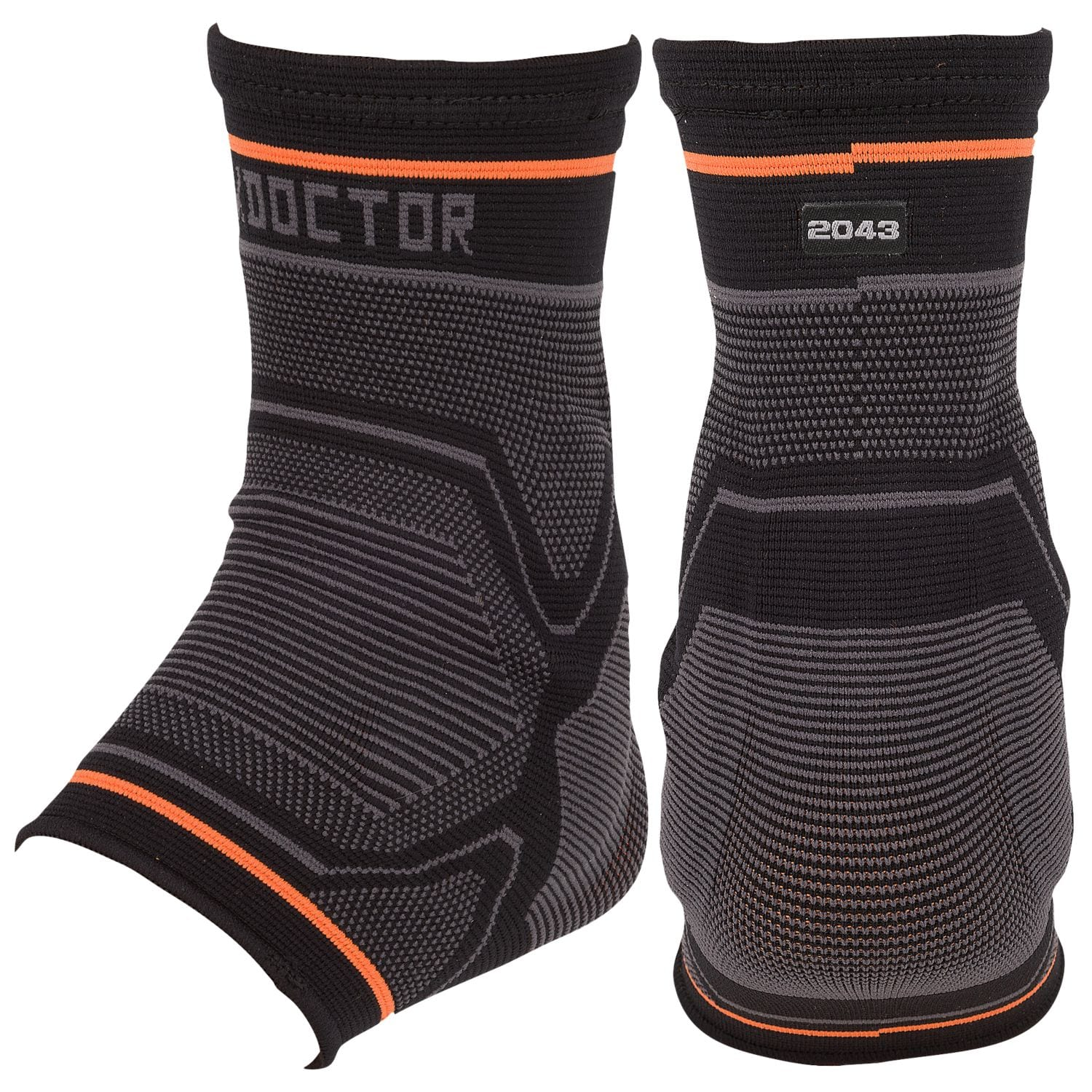204334 Shock Doctor Compression Knit Ankle Sleeve w/Gel Support - Large MAIN