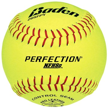 "2BSFPY Baden Perfection Series 12""  Softball LARGE"