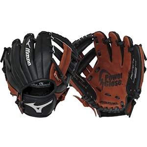 "312371F Mizuno Prospect Youth Baseball Glove 9"" Full Right THUMBNAIL"