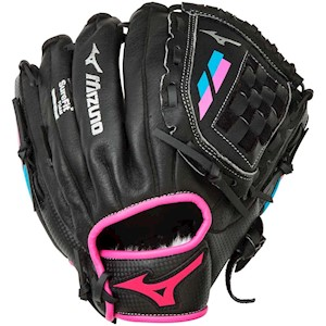 "312469F Mizuno Prospect Finch Fastpitch 10"" Softball Glove Full Right THUMBNAIL"