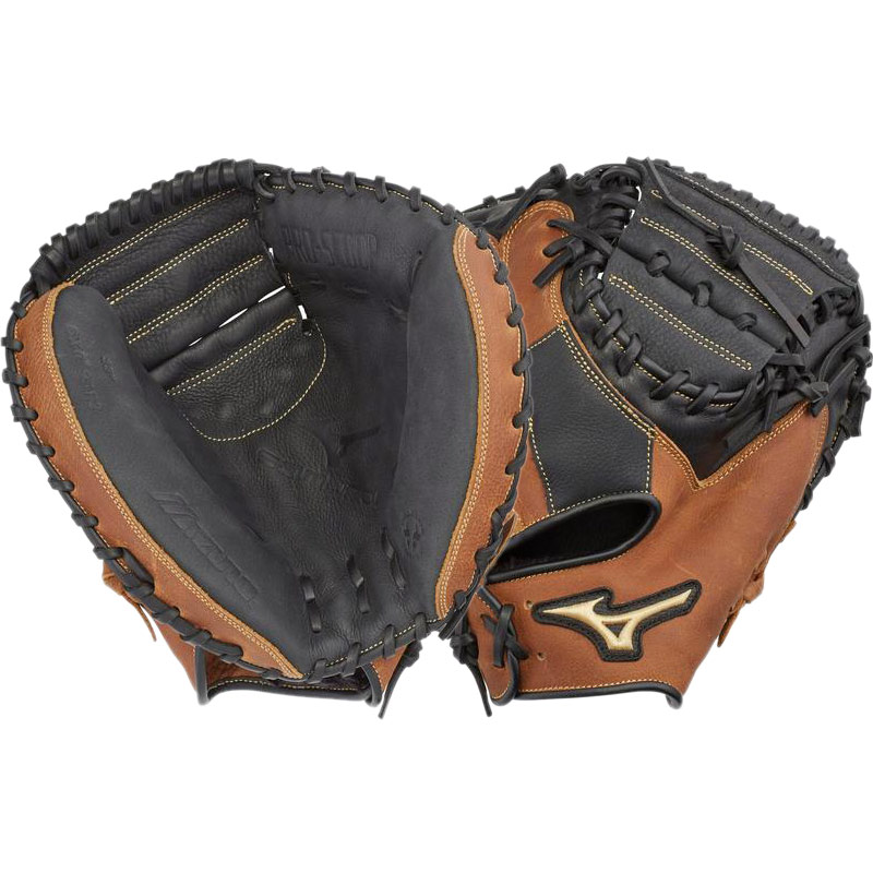"312634R Mizuno Samurai Youth Baseball Catcher's Mitt 33""  - Regular THUMBNAIL"