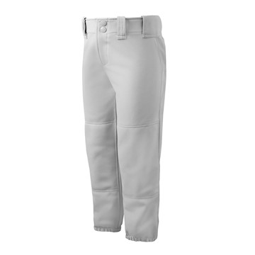 Mizuno Select Belted Low Rise Fastpitch Pant 350150 - White LARGE