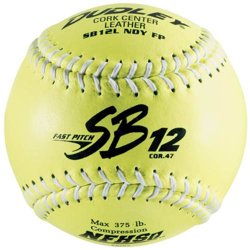 "43331 Dudley SB12L Leather Cover 12"" Softball MAIN"