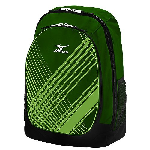 470123F Mizuno Lightning Day Pack - Forest Green MAIN