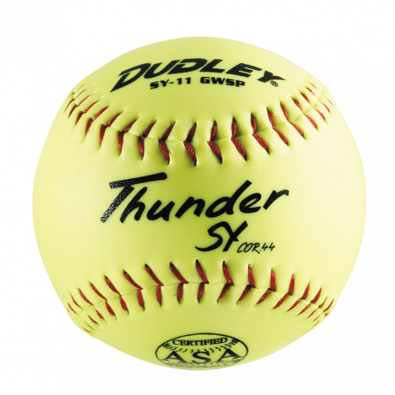 4A722N Dudley SY11 GWSP ASA Synthetic Yellow Softball 44/375 MAIN