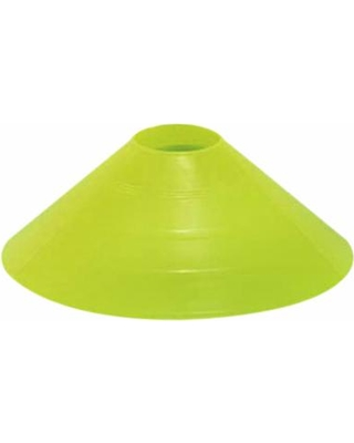 "Markwort 4"" High Saucer Field Marker - Neon Yellow THUMBNAIL"
