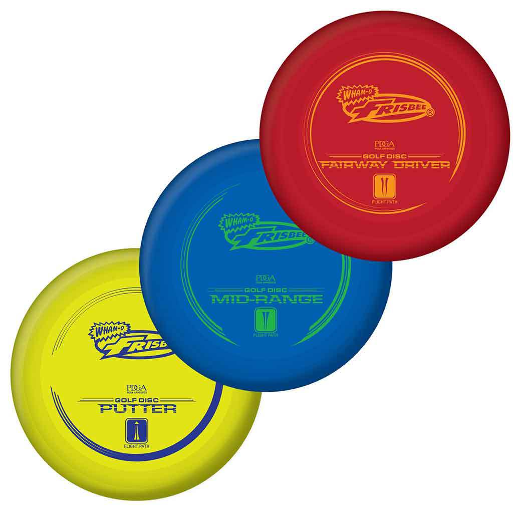 54020 Frisbee Golf - 3 Pack MAIN