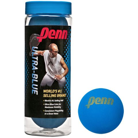 551791 Penn Ultra Blue Racquetballs MAIN