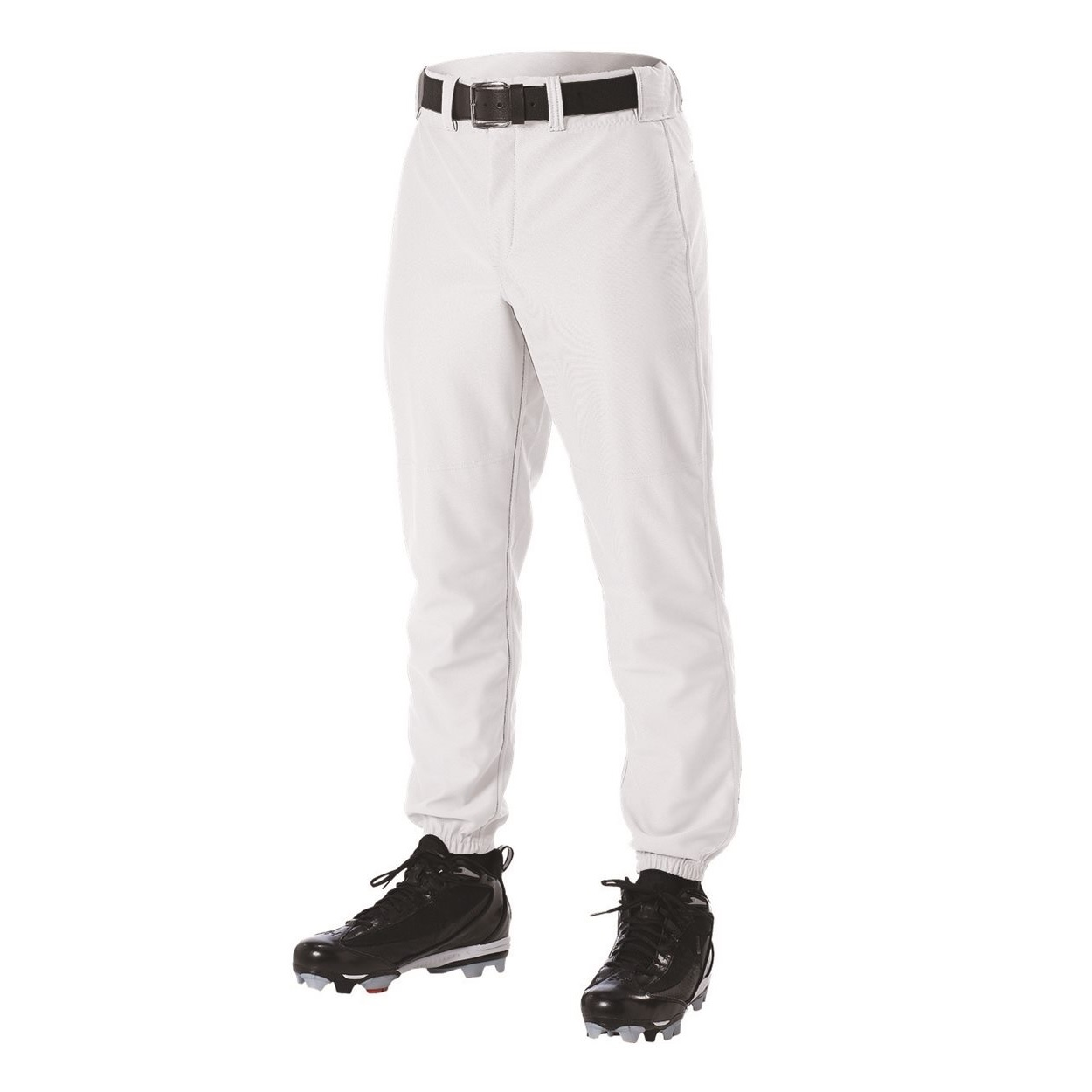 605PXW Alleson Adult Pants W/Loops White Xxl LARGE