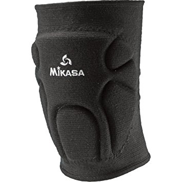 Mikasa Volleyball Kneepad - 11 & Under - Black THUMBNAIL