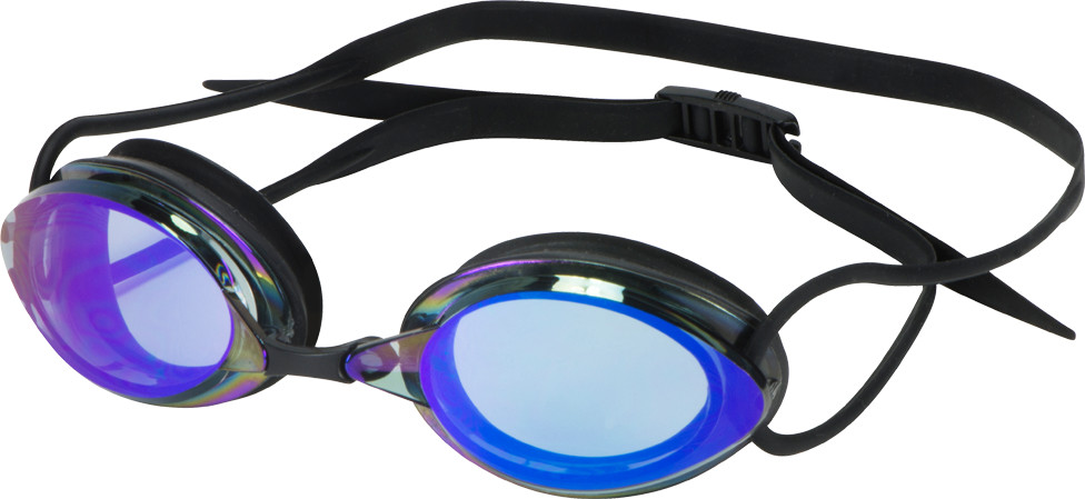 Leader Sailfish Swim Goggles Blue Mirror/Black THUMBNAIL