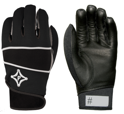 AWG302 PalmGard ® Coach's Winter Gloves - Adult - Black w/Grey MAIN