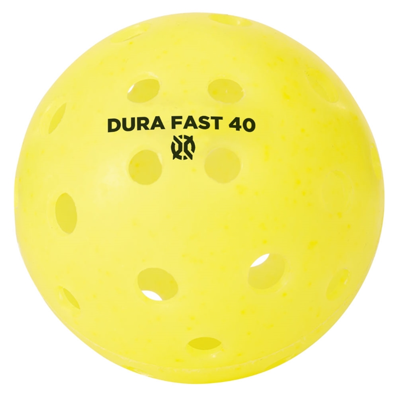 Dura Fast Outdoor Pickleball - Yellow THUMBNAIL