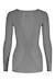 Megmeister Drynamo Hi-Performance Long Sleeve Base Layer - Women's - Grey SWATCH