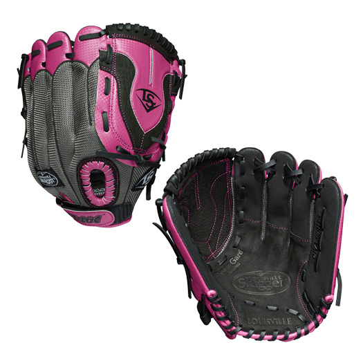 "LDVLB1911 Louisville Slugger Diva 11"" Youth Fastpitch Softball Glove - Right Hand MAIN"