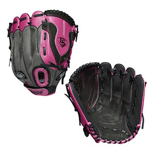 "LDVRB19115 Louisville Slugger Diva 11.5"" Girls Fastpitch Softball Glove - Regular THUMBNAIL"