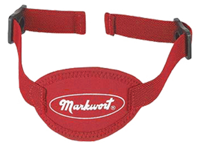 Markwort Chinstrap Neoprene Cup - Red MAIN