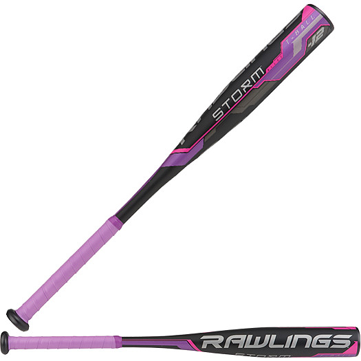 TB8S12 Rawlings Storm Softball T-Ball Bat -12 MAIN