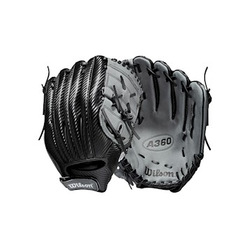 "Wilson Carbonlite Youth A360 12.5"" Baseball Glove - Regular LARGE"