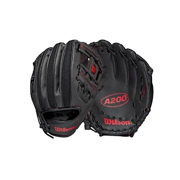 "Wilson A200 10"" Youth Baseball Glove - Regular LARGE"