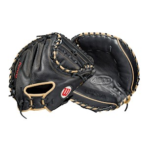 "WBW6132 Wilson A500 32"" Catcher's Baseball Mitt - Regular THUMBNAIL"