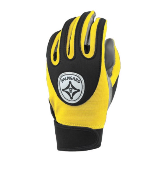 ACG107 Palmgard Football Glove - Adult - Yellow/Black MAIN