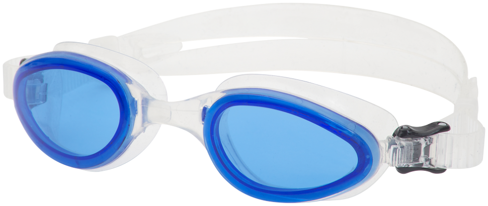AG1300BC Omega AG1300 Swim Goggles - Blue/Clear MAIN