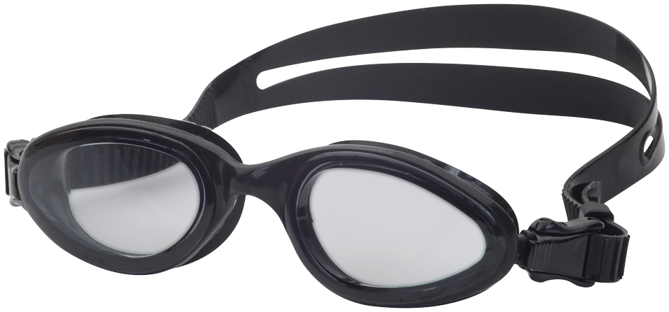 Omega AG1300 Swim Goggles Clear/Black MAIN
