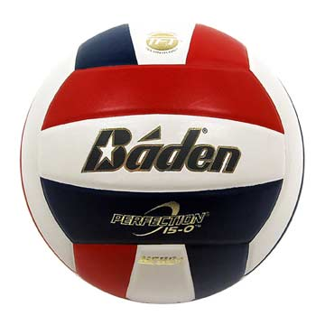 VX5ERWB Baden Perfection Volleyball NFHS - Red/White/Blue MAIN