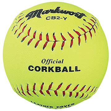 Markwort Corkballs Individually Boxed Leather Yellow THUMBNAIL
