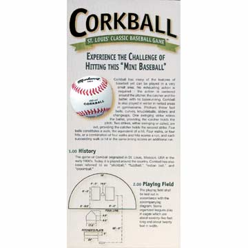 Markwort Official Corkball Rules THUMBNAIL