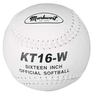 "Markwort 16"" Softball Leather / White Stitch THUMBNAIL"
