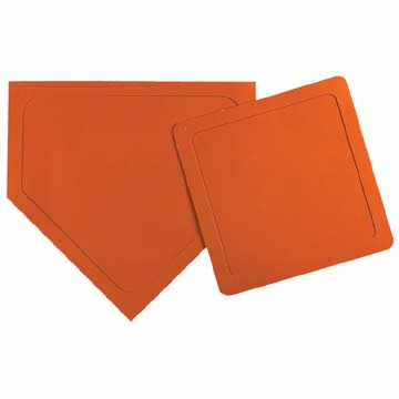 MTB7WPO Markwort Throw Down Bases 5 Pcs - Orange MAIN