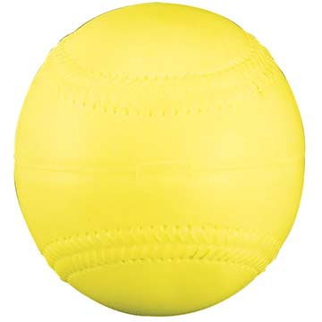 "PMSE12Y Markwort Pitching Machine Balls - 12"" Yellow THUMBNAIL"