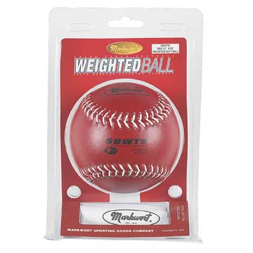 SBWT9C Weighted Softball - 9oz Clamshell Packaging MAIN
