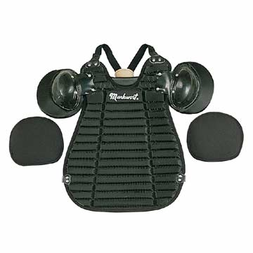UBP22 Markwort Inside Umpire Chest Protector Black MAIN