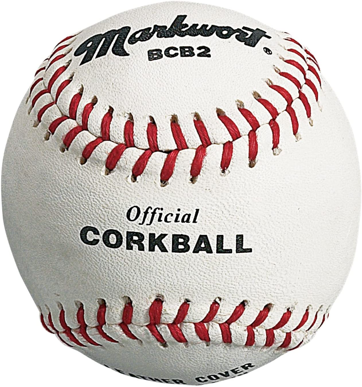 Markwort Official Corkball White Leather Individual Box THUMBNAIL