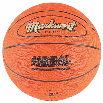 HBB6L Markwort Training Basketball - Extra Heavy - Size 6 MAIN