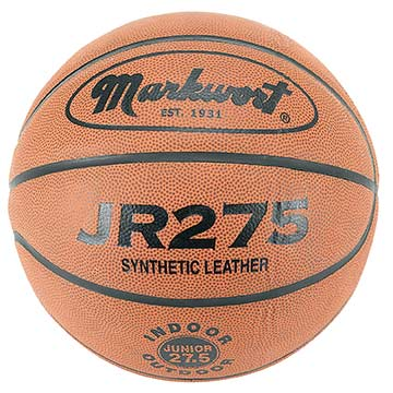JR275 Markwort Basketball - Synthetic Leather - Junior Size THUMBNAIL
