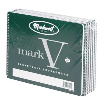 Markwort Mark V Basketball Scorebook - 37 Games MAIN