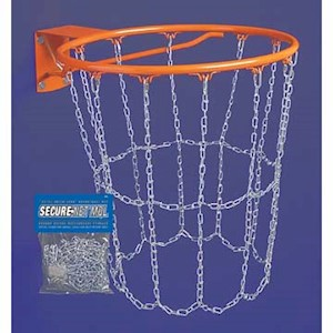 MQL Markwort Secure-Net Metal Chain Basketball  Net THUMBNAIL