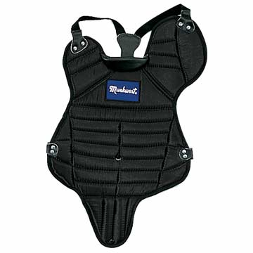 "Markwort Chest Protector 15.5"" Youth -Black w/Tail THUMBNAIL"